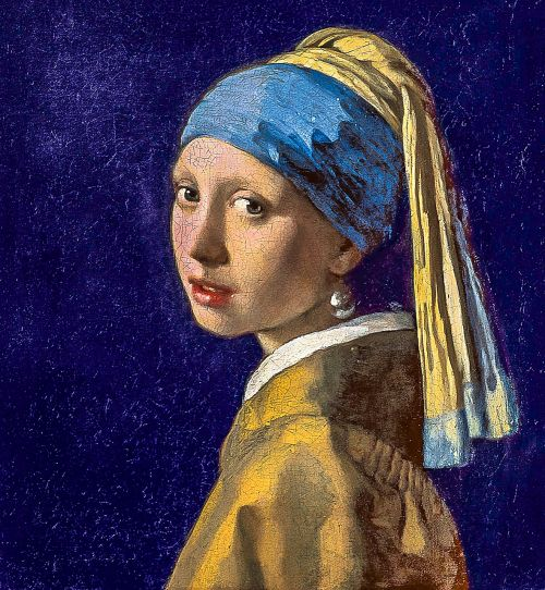 girl with the pearl earring restored fresco quality digital restoration