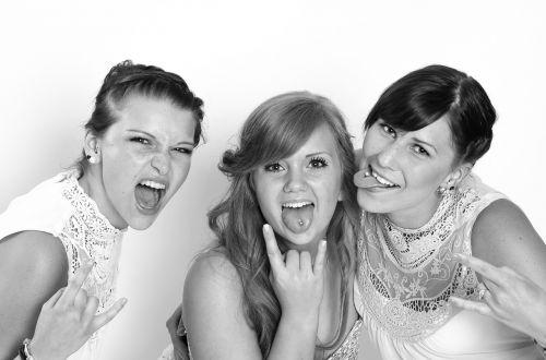 girlfriends party young women