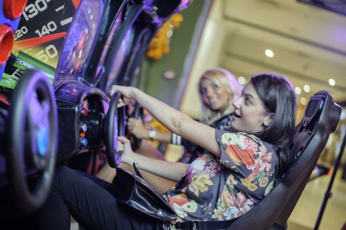 girls game automat drive