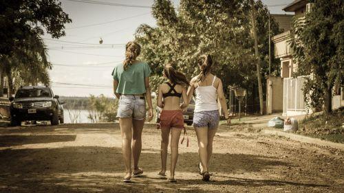 girls walk walkers