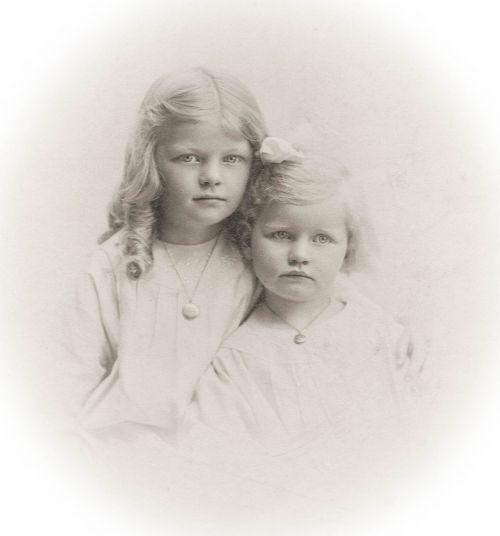 girls vintage children