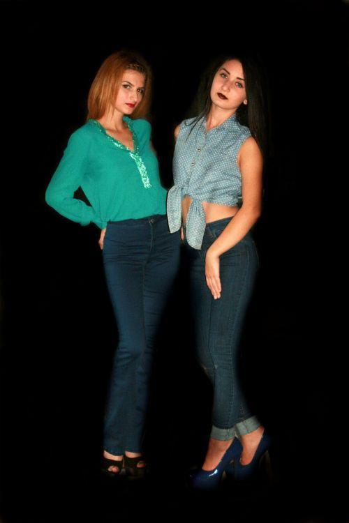 girls fashion seduction