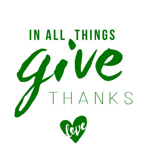Give Thanks