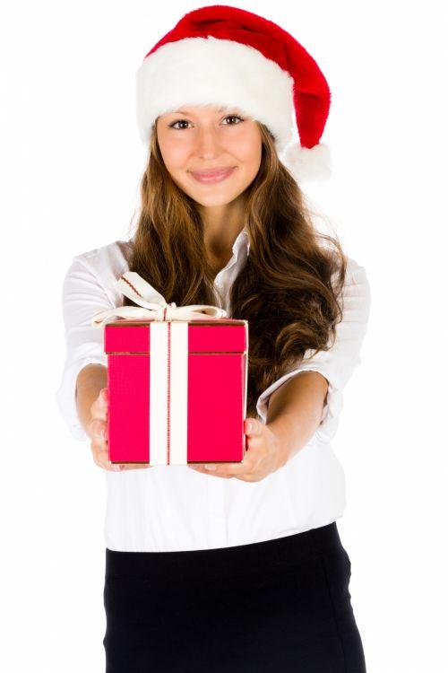 Giving A Christmas Gift