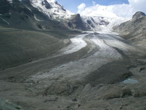 glacier cold alpine