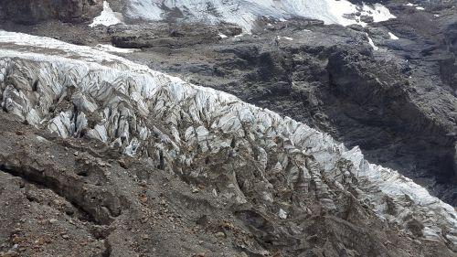 glacier moraine glacier moraine