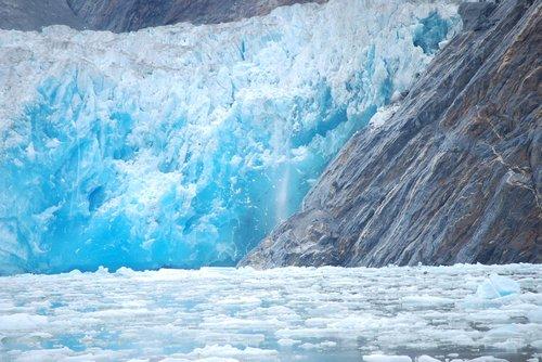 glacier  alaska  ice