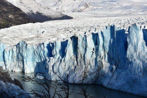 glacier  argentina  nature
