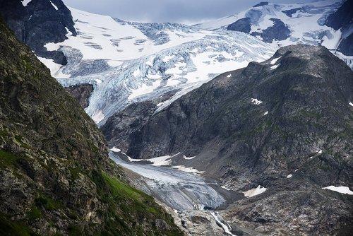 glacier  alpine  susten
