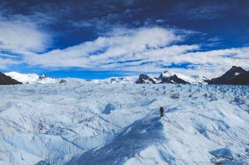 glacier patagonia south pole