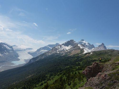 glacier canada rocky