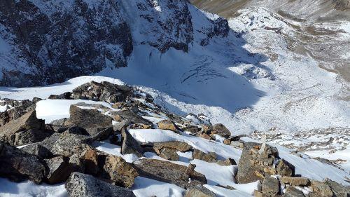 glacier alpine south tyrol