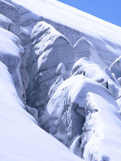 glacier ice nature