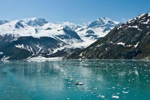 glacier bay alaska mountain
