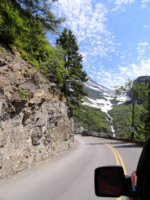 glacier national park montana scenery