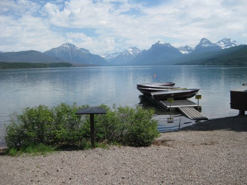 glacier national park lake mcdonald montana