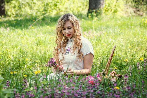 glade flowers basket