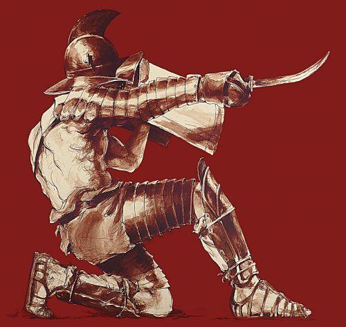 gladiator thracian antonin faure
