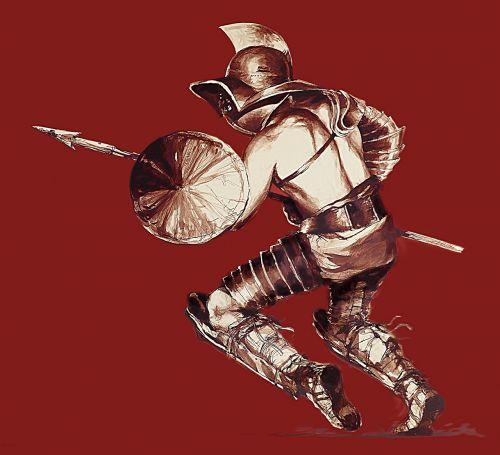 gladiator oplomachus antonin faure