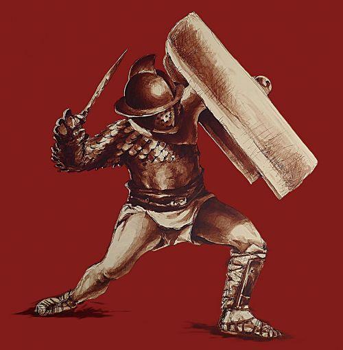 gladiator secutor antonin faure