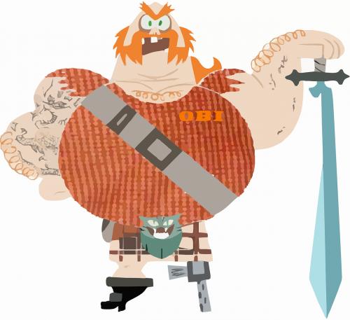 gladiator viking warrior