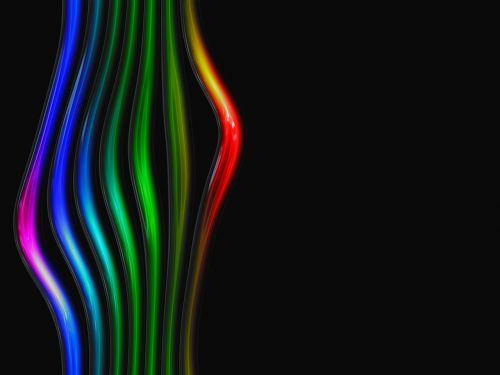 glass rainbow tube