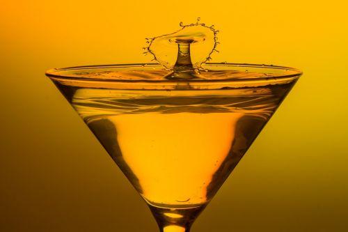 glass martini cocktail