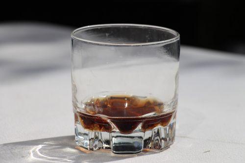 glass cola carbonic acid