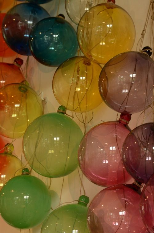 glass art ball