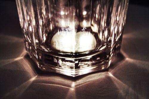 glass sepia light