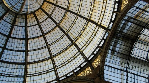 glass ceiling structure