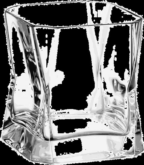 glass bent distorted