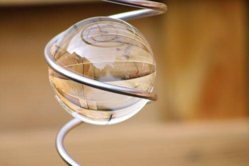 glass bol decoration