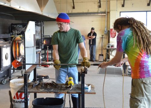 glass blowing craft