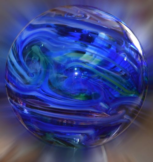 glass float handmade