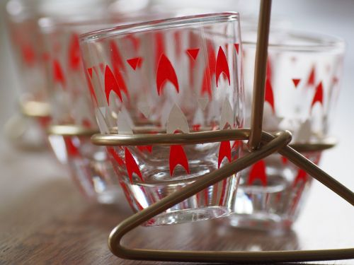 glass glasses vintage