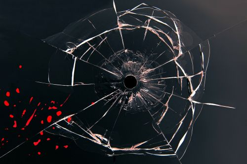 glass bullet blood
