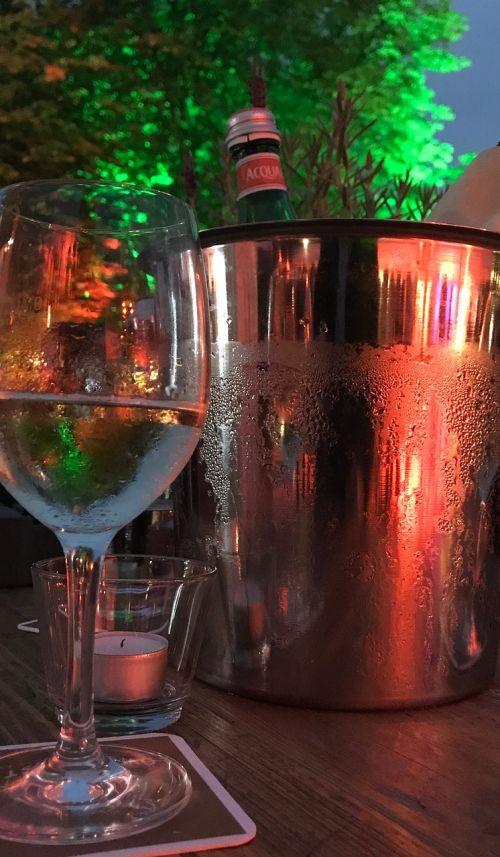 glass celebration mood