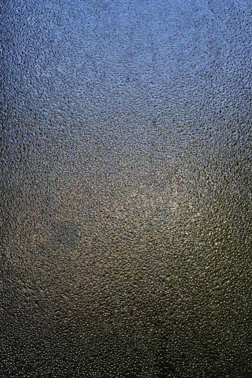 glass drop of water fogging