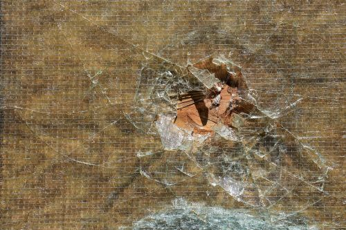glass splitter broken