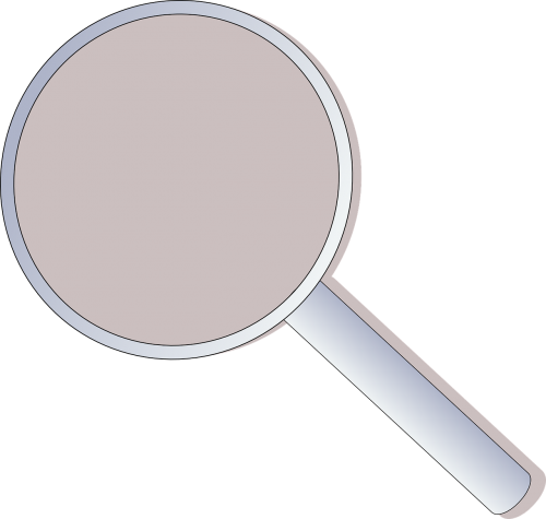 glass symbol magnifying