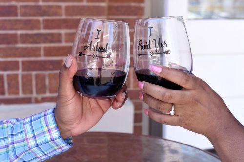 glass drink wine