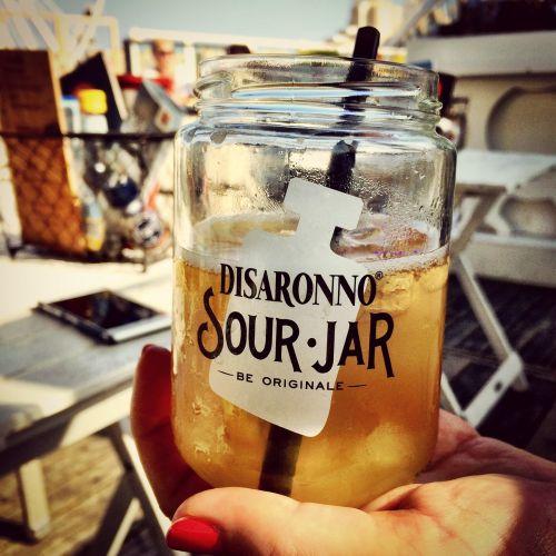 glass hip drink
