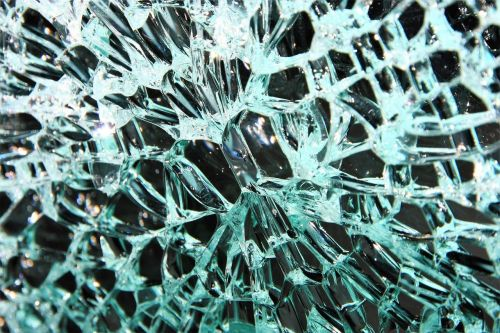 glass glass breakage broken