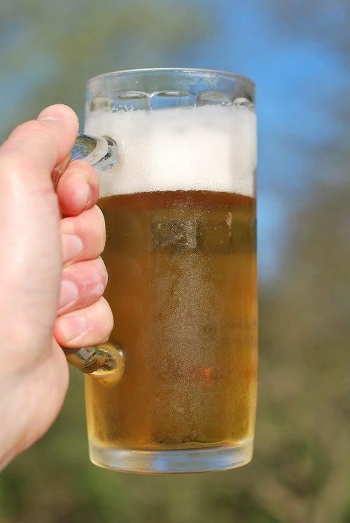 glass  drink  beer
