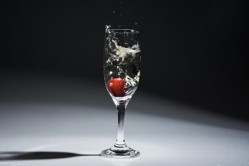 glass  bowl  drink