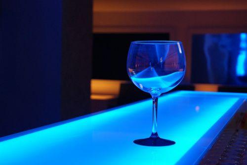 glass disco night