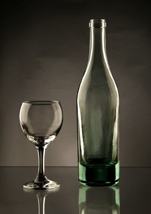 glass a bottle of simplicity
