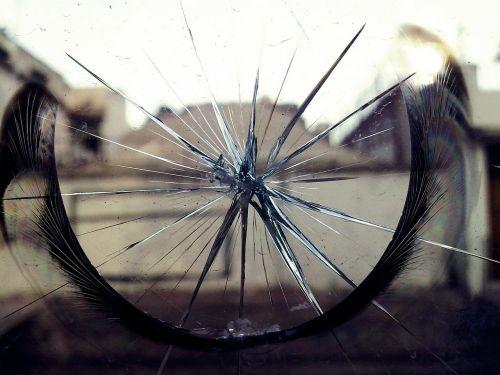 glass broken break