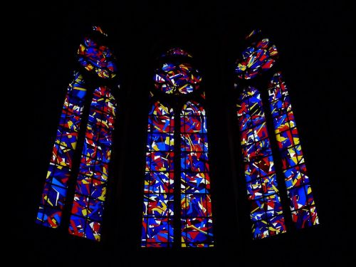 glass stained reims